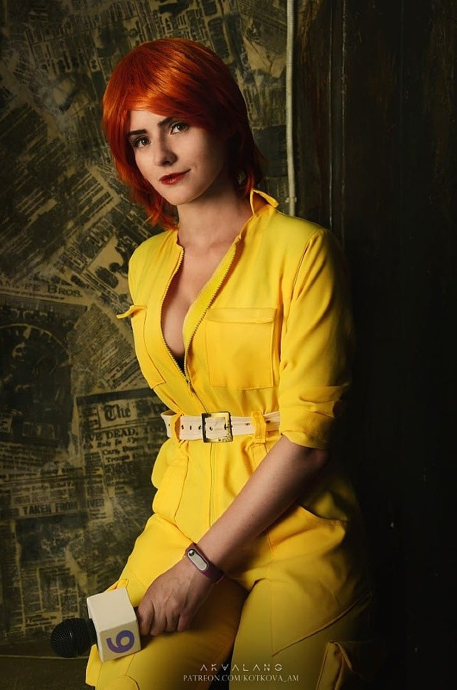 Russian Cosplay: April O'Neil (TMNT)