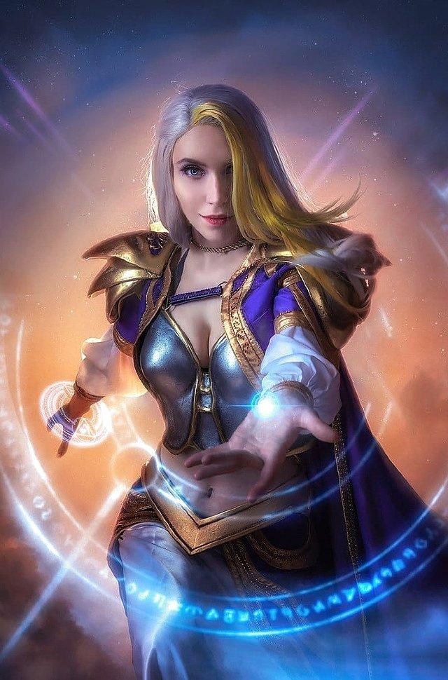 Russian Cosplay: Jaina (Warcraft 3)
