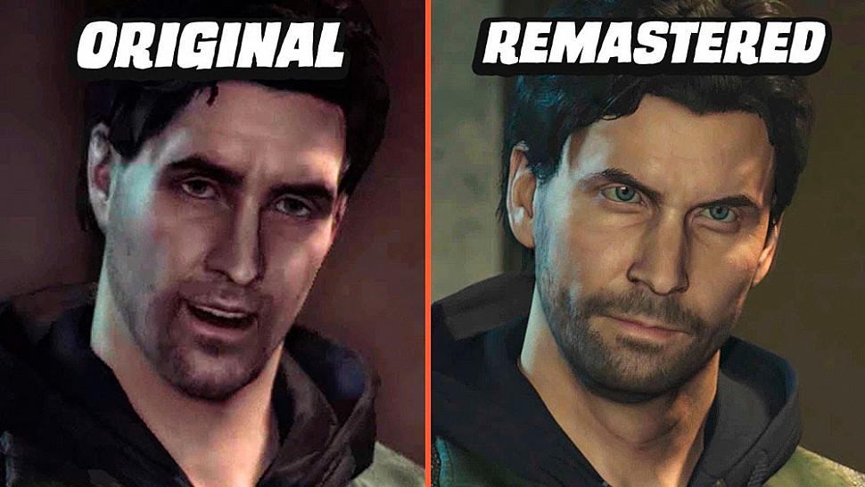 [Fun Video] Alan Wake Remastered vs Original (Graphics Comparison)