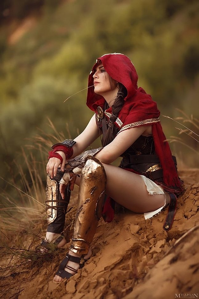 Russian Cosplay: Kassandra (Assassin's Creed) by Elysian Rebel