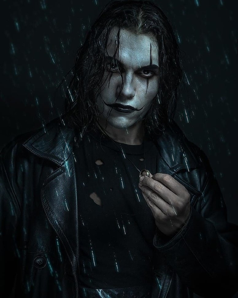 Russian Cosplay: Eric Draven (The Crow)