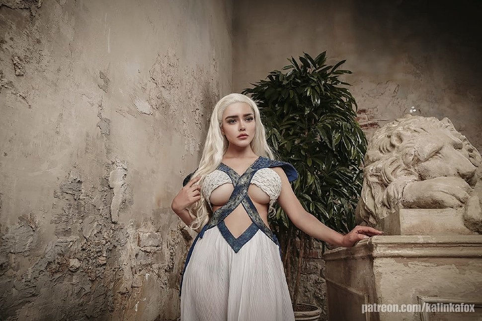 Russian Cosplay: Daenerys Targaryen (Game of Thrones) 18+
