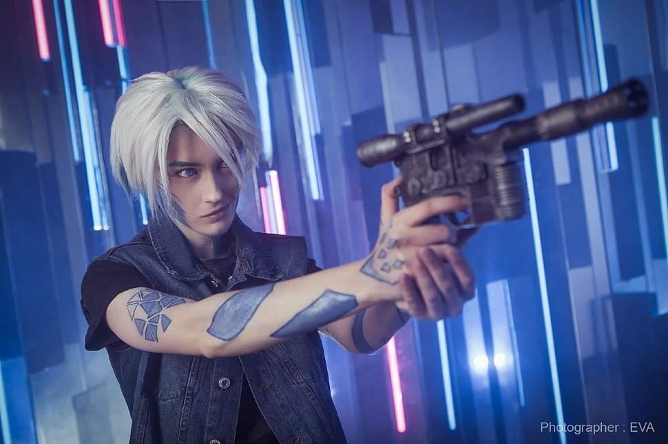 Russian Cosplay: Parzival (Ready Player One) by Ren Shuhrer