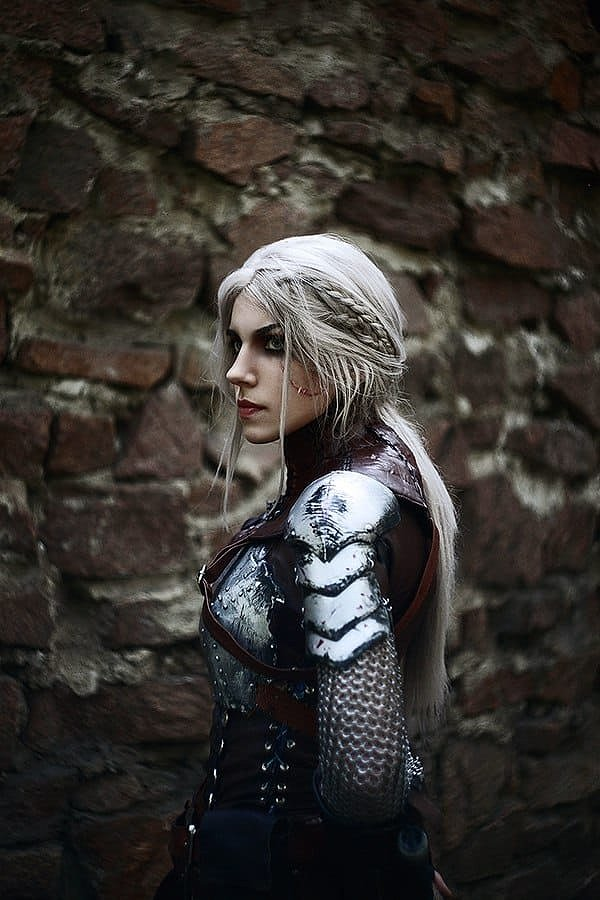 Russian Cosplay: Ciri (The Witcher)