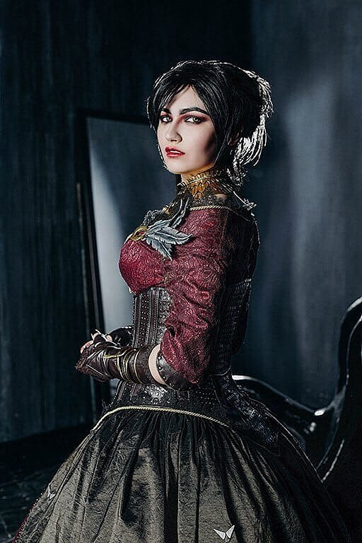Russian Cosplay: Morrigan (Dragon Age) by Ainahi