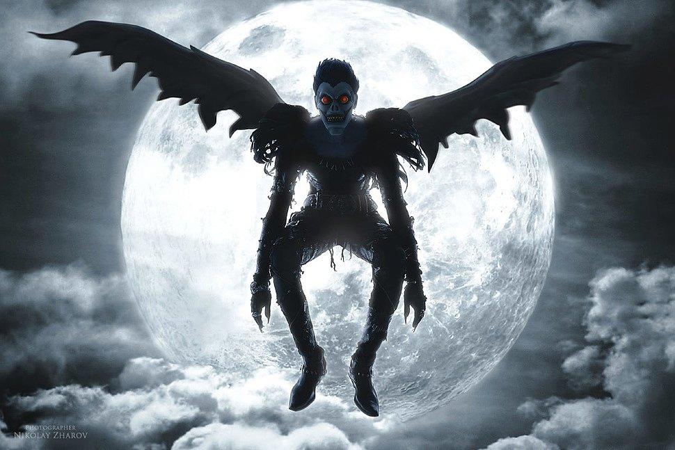 Russian Cosplay: Ryuk (Death Note) by Mishan Potakus