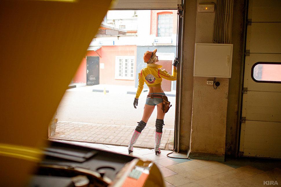 Russian Cosplay: Cindy Aurum (Final Fantasy XV) by Lei Radna