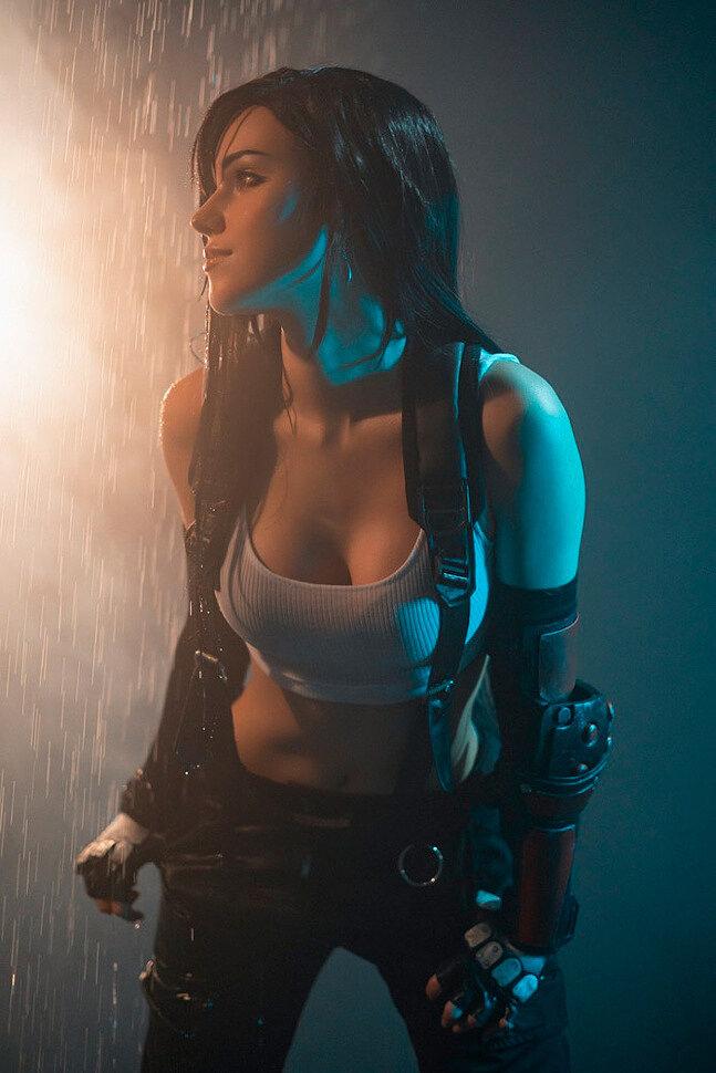 [Cosplay] Tifa Lockhart (Final Fantasy 7) by Shirogane_sama (ver 2)