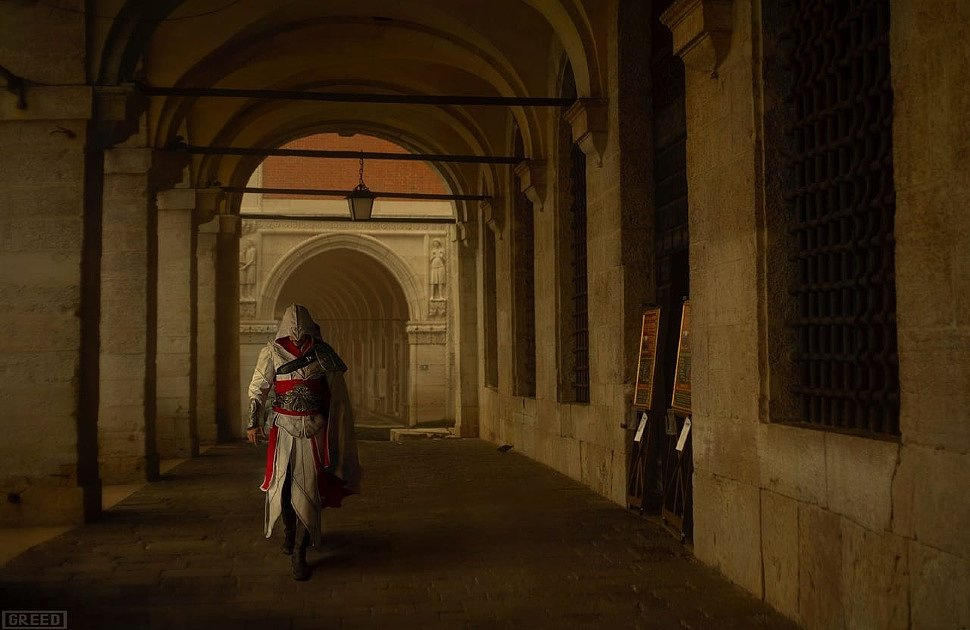 Russian Cosplay: Assassin's Creed by Igor Alvares