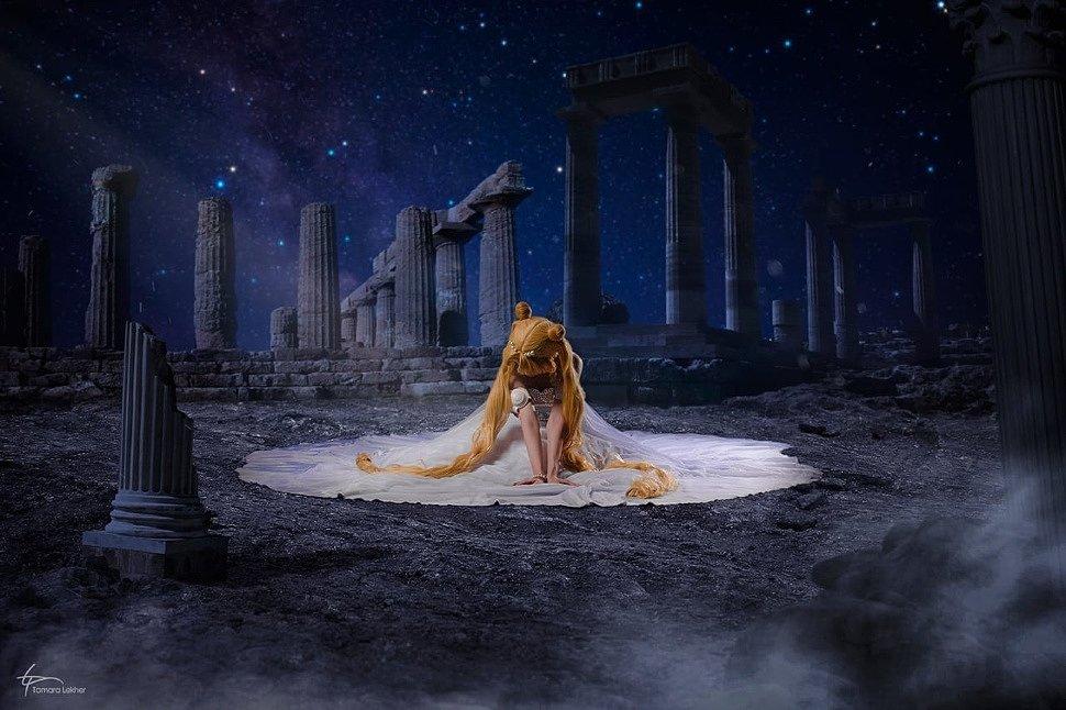 Russian Cosplay: Princess Serenity (Sailor Moon) by Likanda