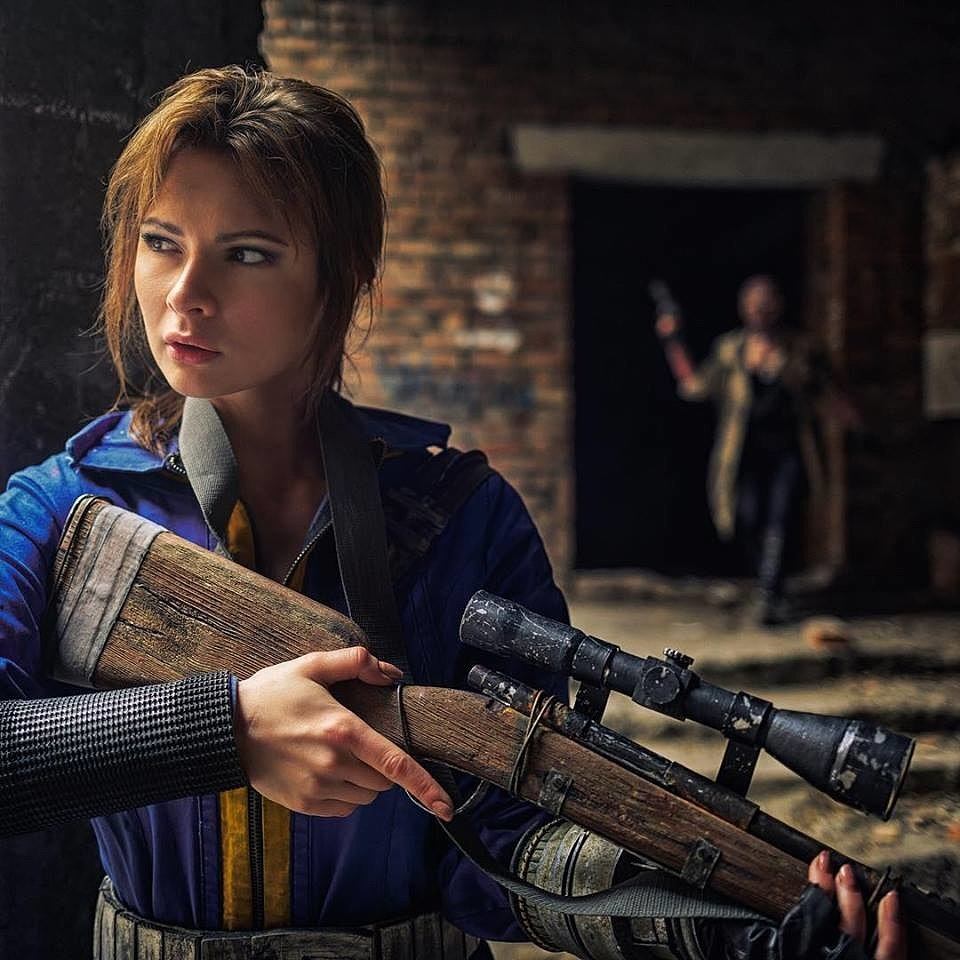 Russian Cosplay: Fallout by Jannet Incosplay