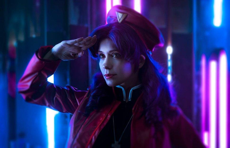 Russian Cosplay: Misato Katsuragi (Evangelion)