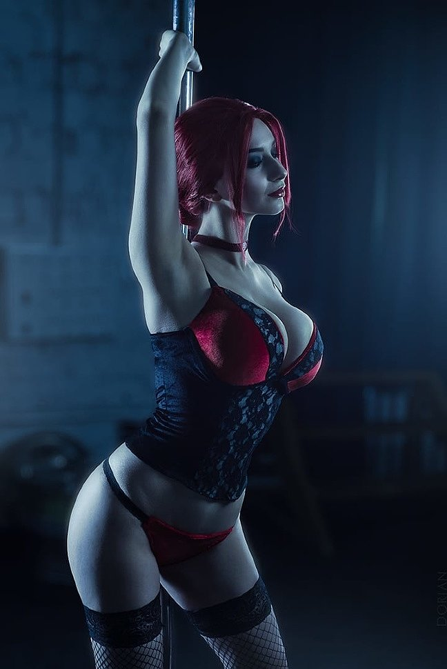 Russian Cosplay: Velvet Velour (Vampire: The Masquerade — Bloodlines)