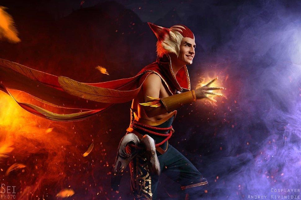 Russian Cosplay: Rakan & Xayah (League of Legends)