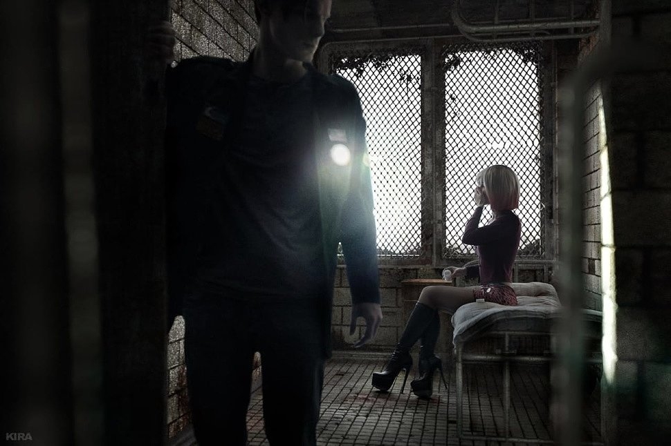 Russian Cosplay: James & Mary (Silent Hill 2)