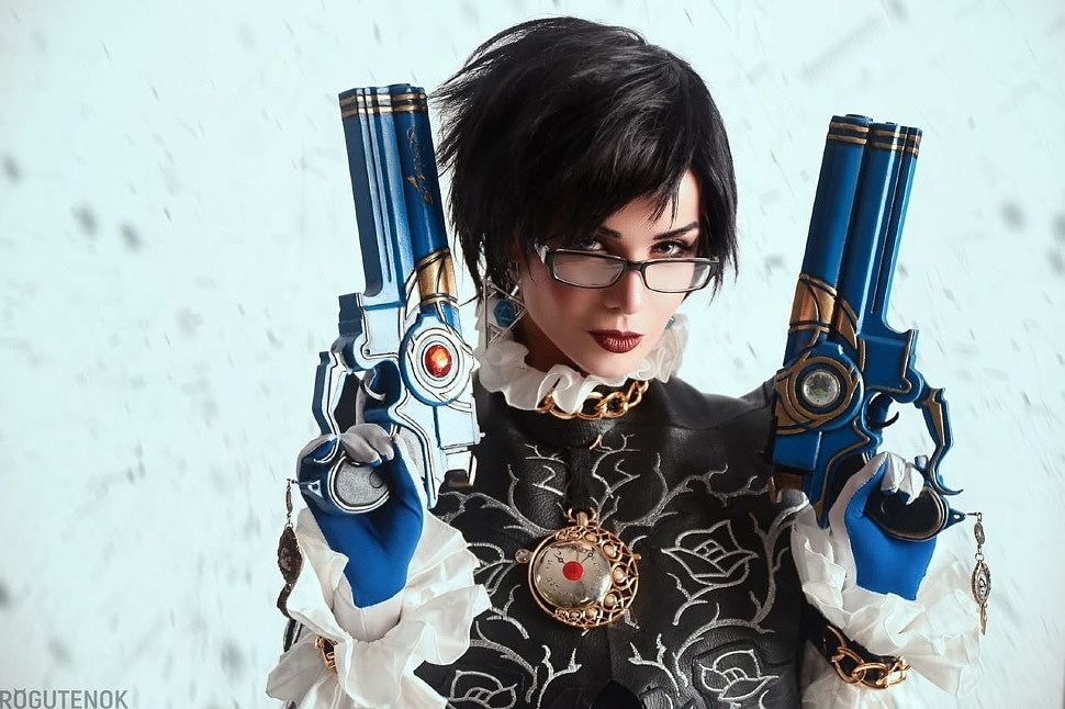 Russian Cosplay: Bayonetta by Hannushka