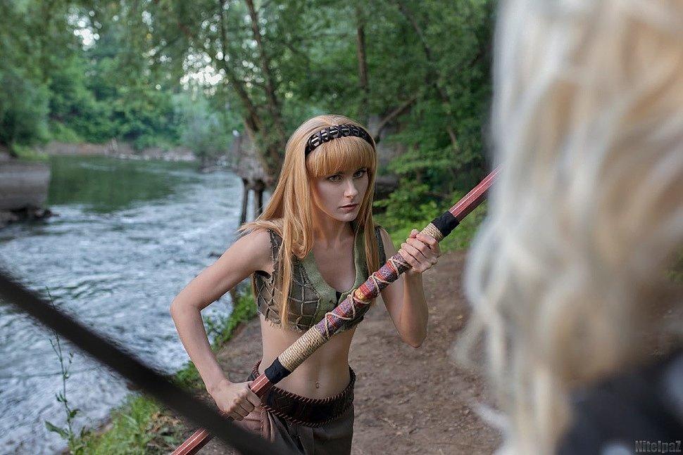 Russian Cosplay: Xena, Gabrielle & Callisto (Xena: Warrior Princess)