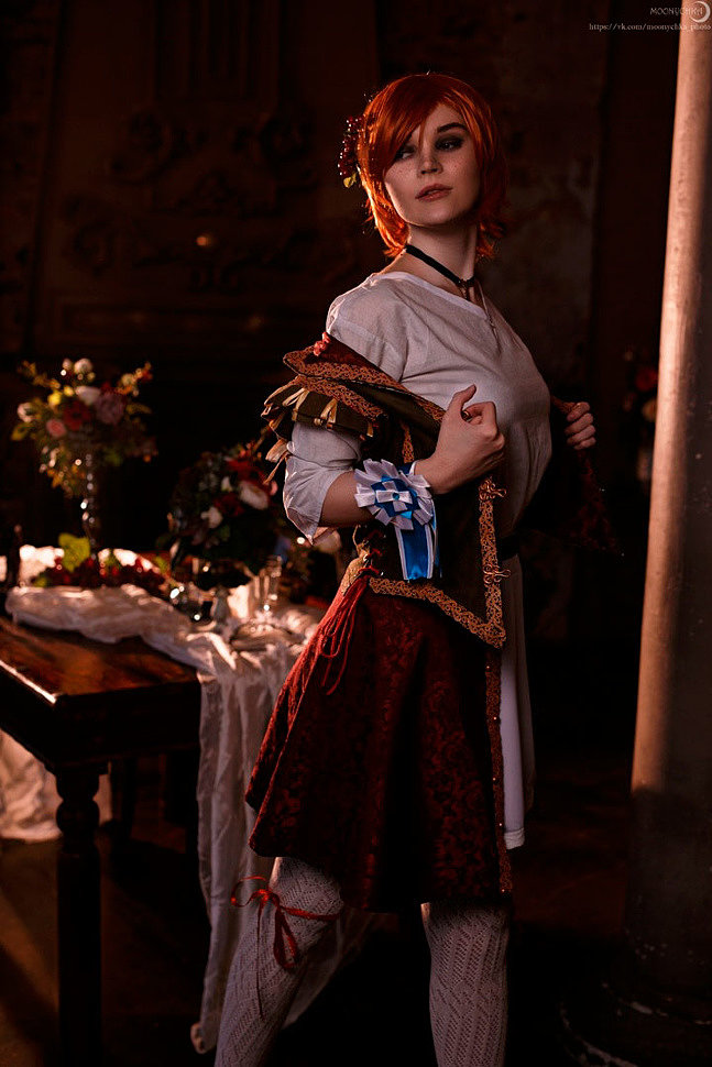Russian Cosplay: Shani (The Witcher 3)