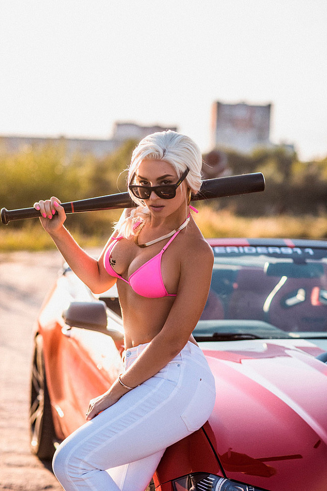[Cosplay] Rochell'le (GTA: San Andreas) by Anna Shakh