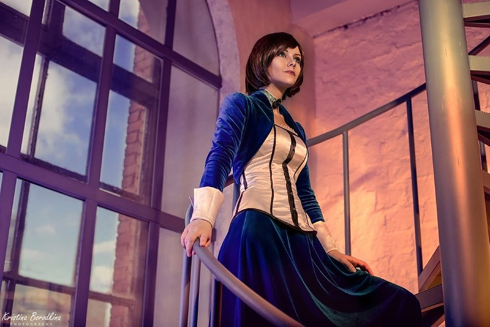 Russian Cosplay: Elizabeth (Bioshock Infinite) by Kira Nevskaya