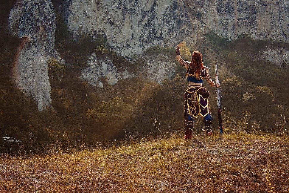 Russian Cosplay: Aloy (Horizon Zero Dawn) by Aurora
