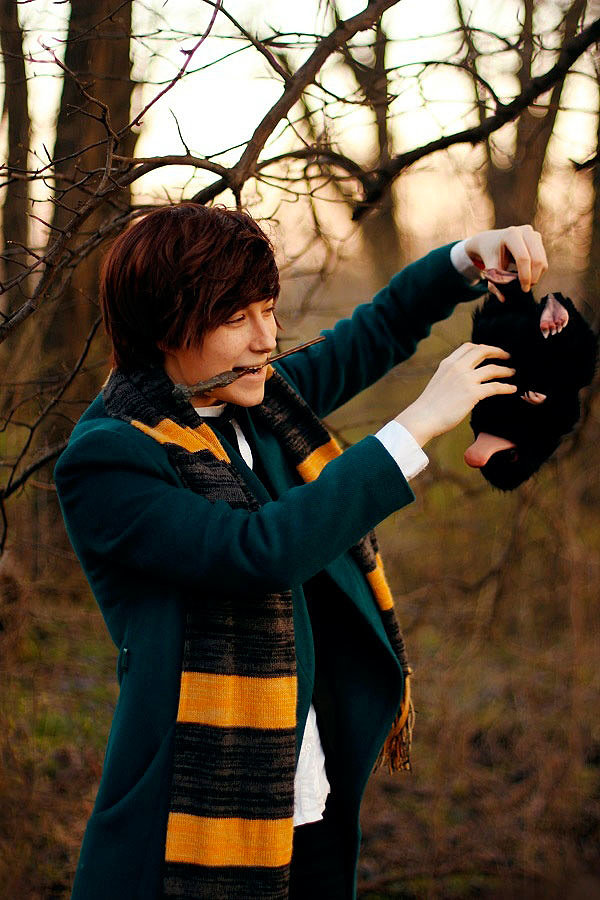 Russian Cosplay: Newt Scamander (Fantastic Beasts and Where to Find Them)