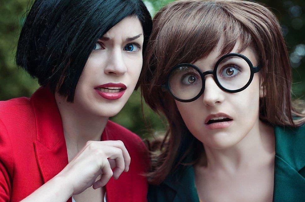 Russian Cosplay: Daria, Jane & Trent (Daria)
