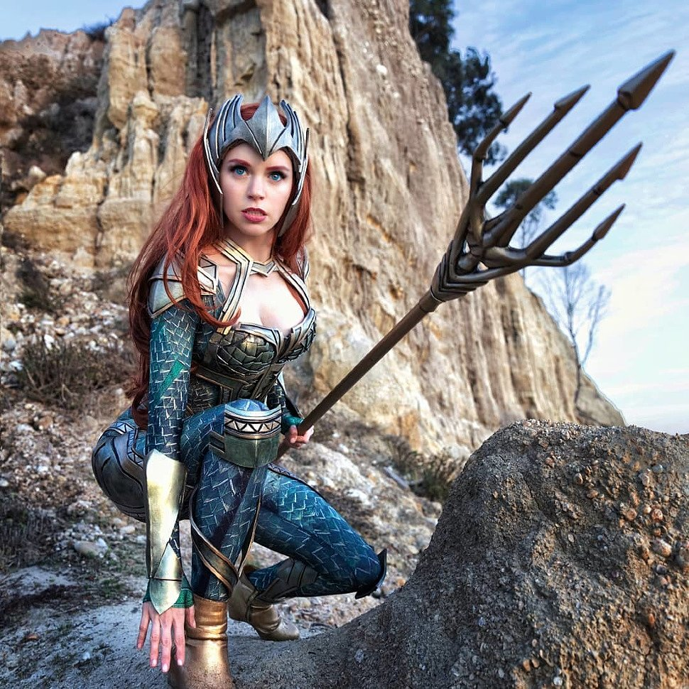 Cosplay: Mera (Aquaman) by Kirstin
