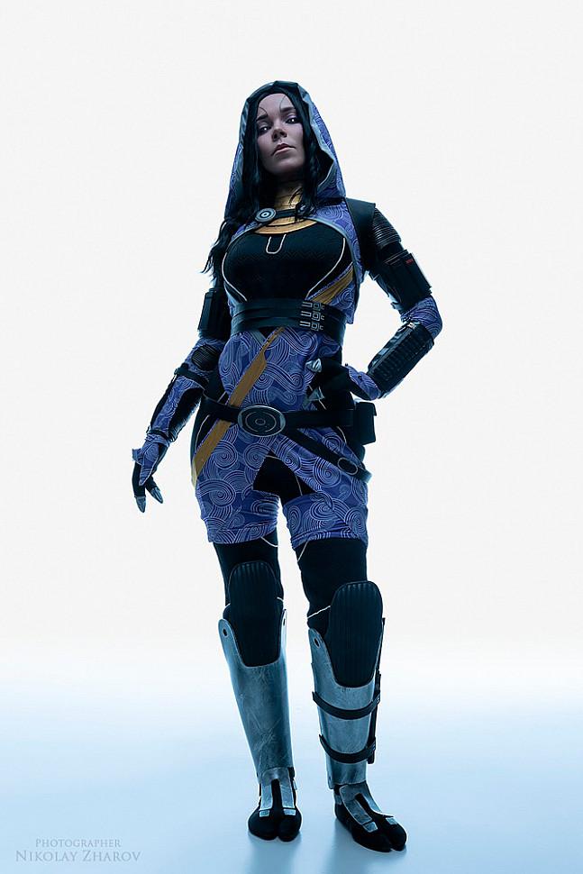 [Cosplay] Tali'Zorah (Mass Effect) by Tasha Arkus