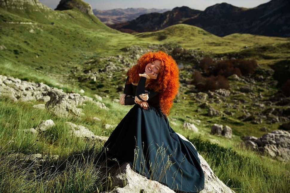Russian Cosplay: Merida (Brave) by Dariya Berger