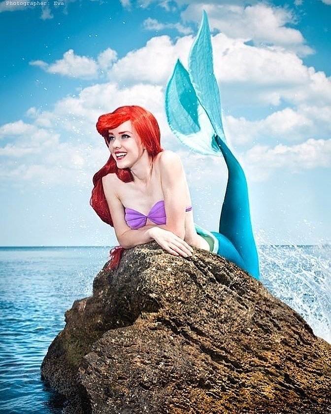 Russian Cosplay: Ariel (The Little Mermaid) by Nelly Laufeyson
