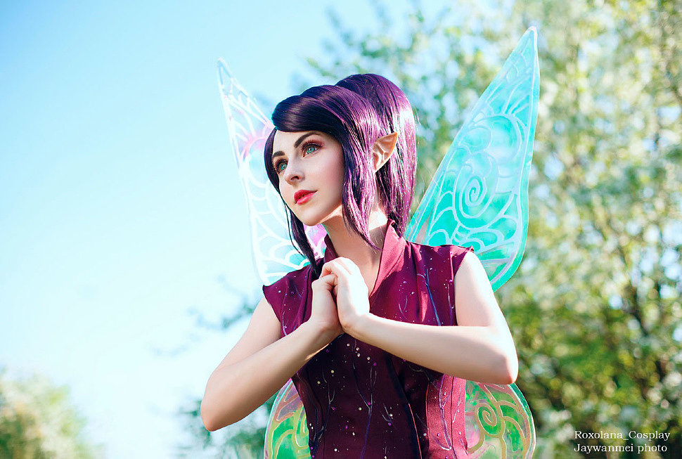 Russian Cosplay: Vidia (Tinker Bell)