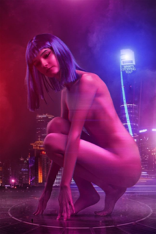 Russian Cosplay: Joi (Blade Runner 2049) 18+