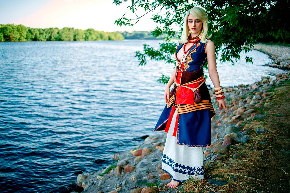 Russian Cosplay: Keira Metz (The Witcher 3)