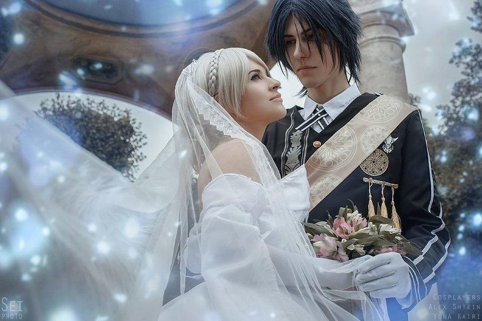 Russian Cosplay: Noctis & Luna (Final Fantasy XV)