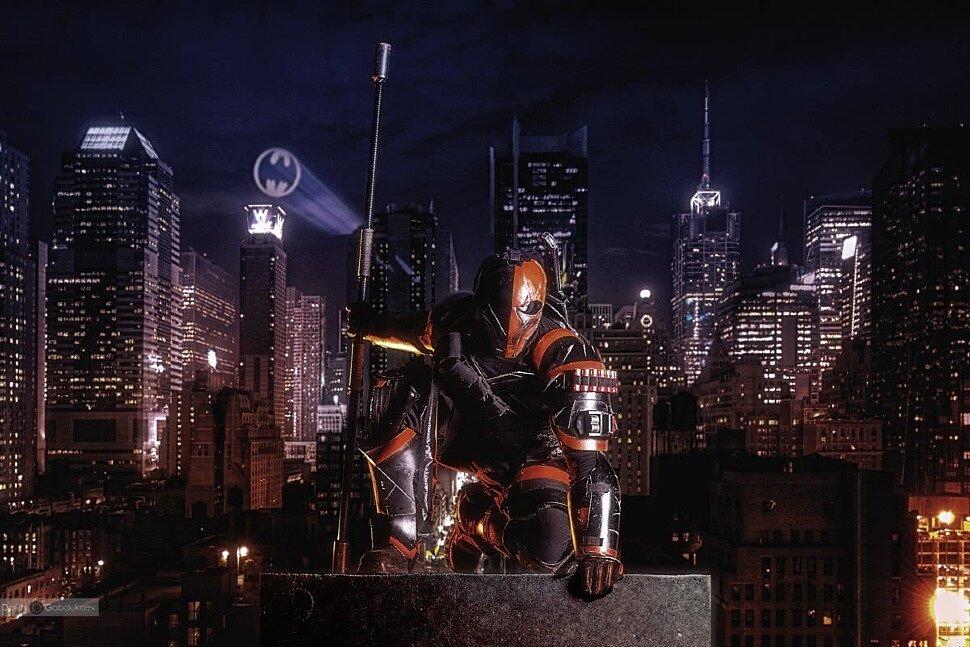 Russian Cosplay: Deathstroke (DC Comics) by Cyber Stark