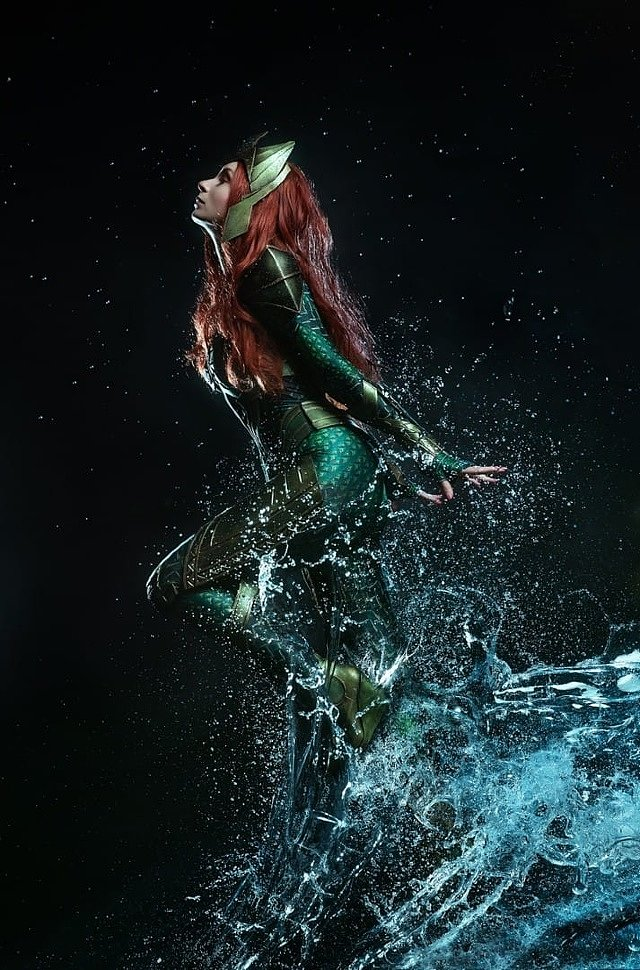Russian Cosplay: Mera (Aquaman) by Elle