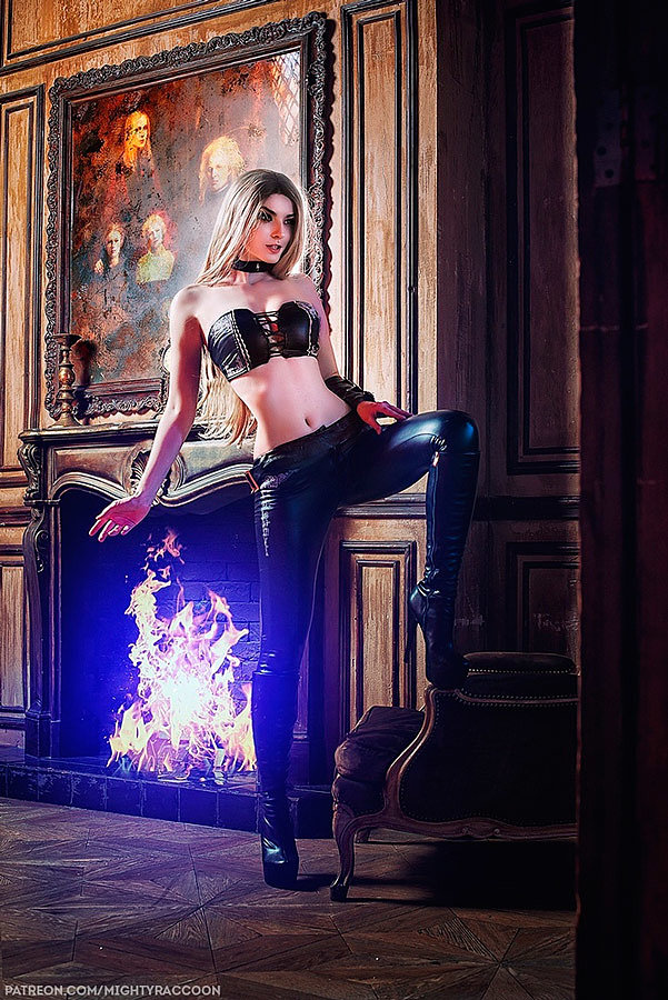 Russian Cosplay: Trish (Devil May Cry 5) by mightyraccoon