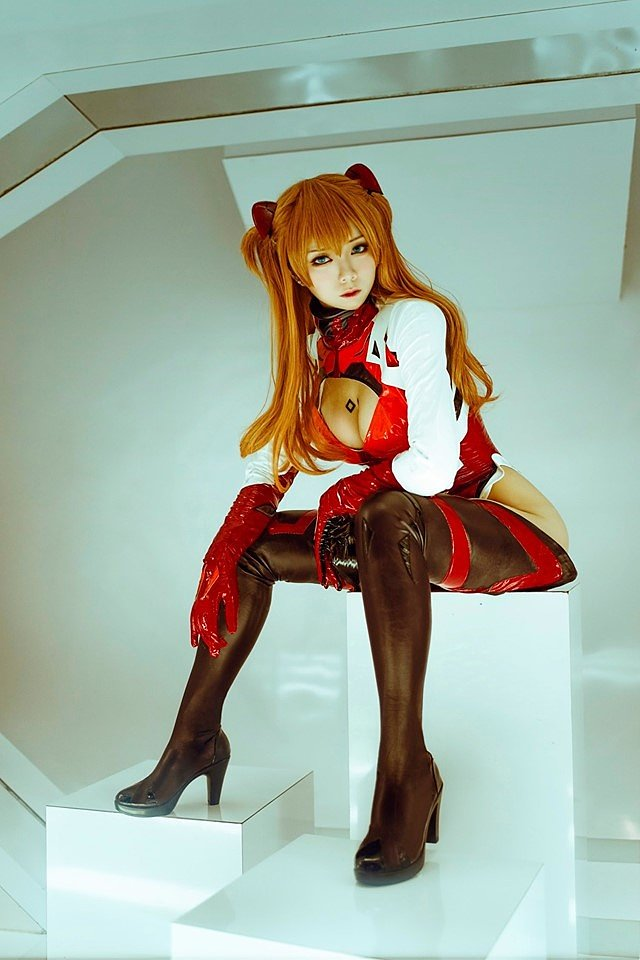 Cosplay: Asuka Langley (Evangelion) by Raku