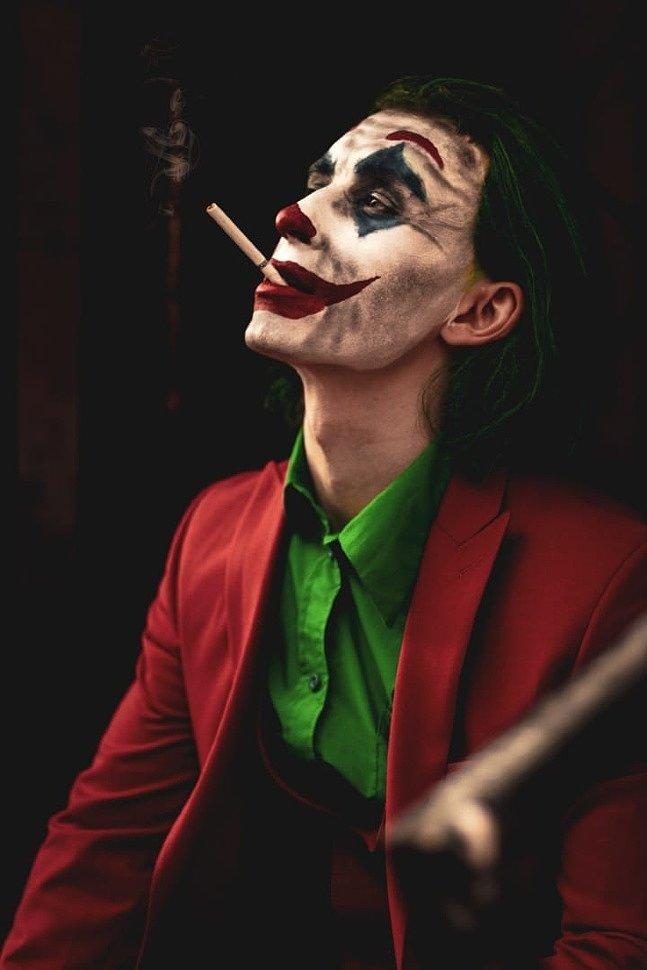 Russian Cosplay: Joker (DC Comics) by Guy Foxman
