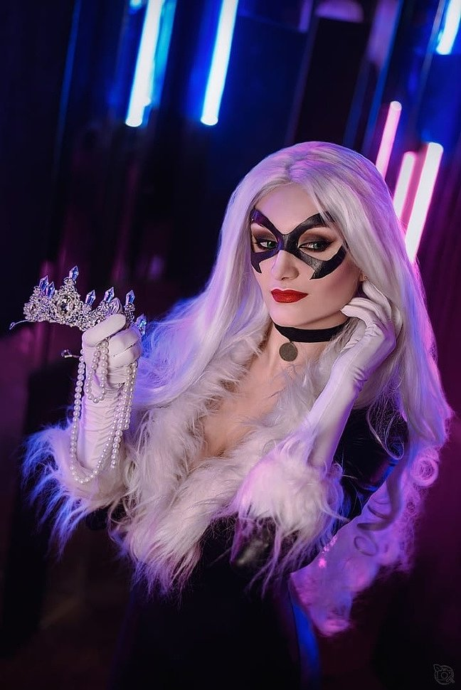 Russian Cosplay: Black Cat (Marvel Comics)