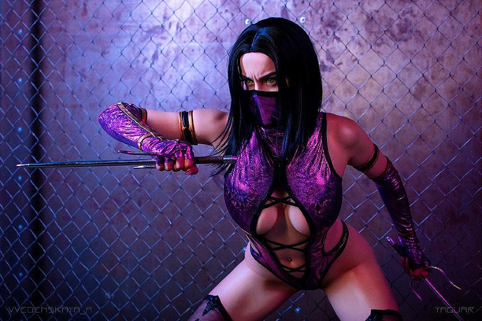 Russian Cosplay: Mileena (Mortal Kombat)