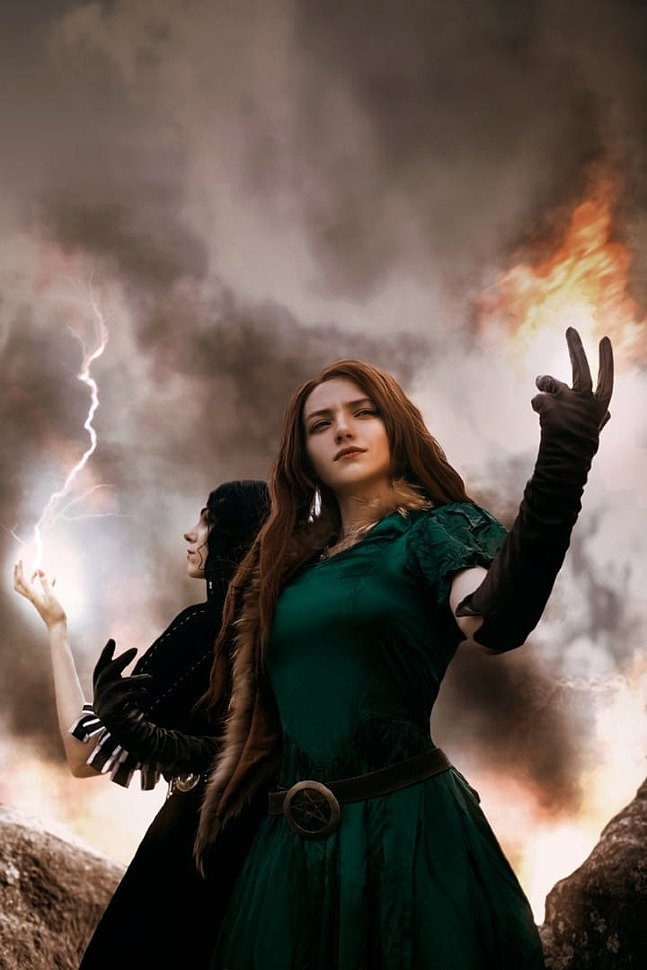 Russian Cosplay: Triss Merigold (Witcher) by Carry Key