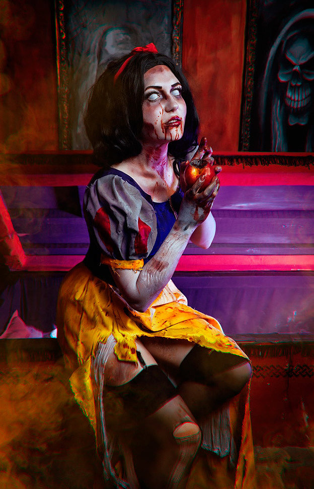 Russian Cosplay: Zombie Snow White (Disney) by Margarita Mysteria