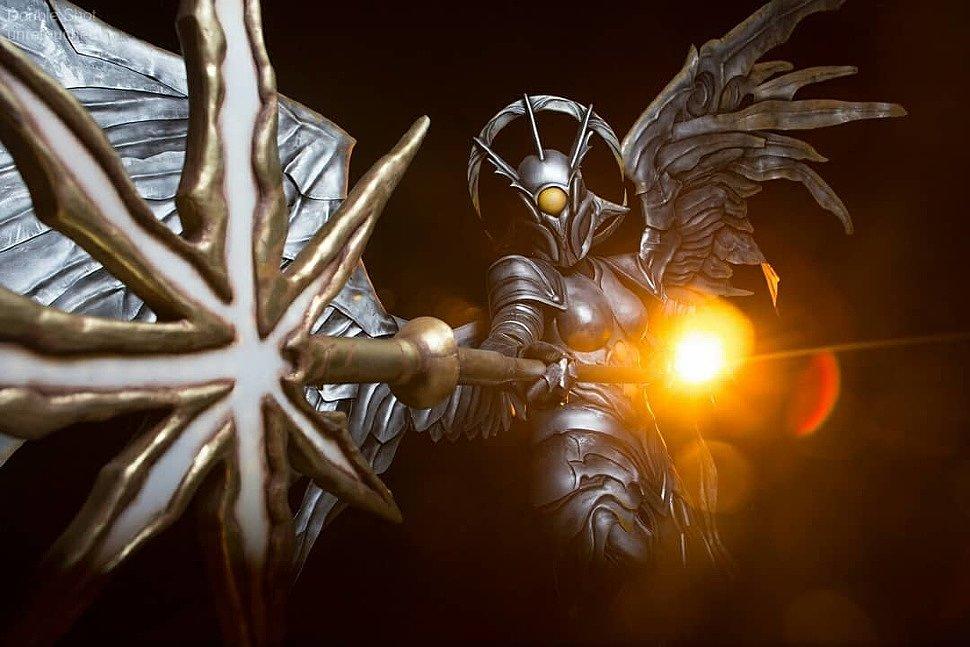 Russian Cosplay: Sunblast Angel (Magic: The Gathering)