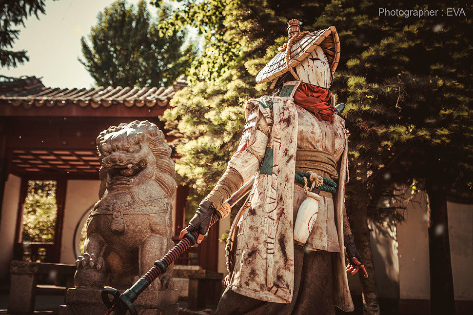 Russian Cosplay: Nobushi (For Honor)