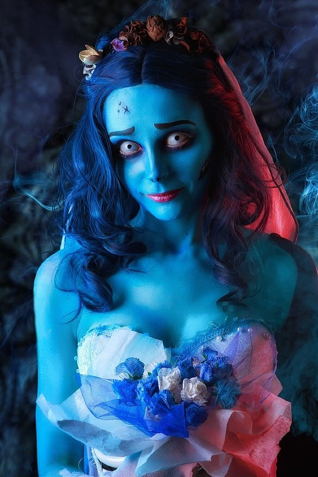 Russian Cosplay: Emily (Corpse Bride)
