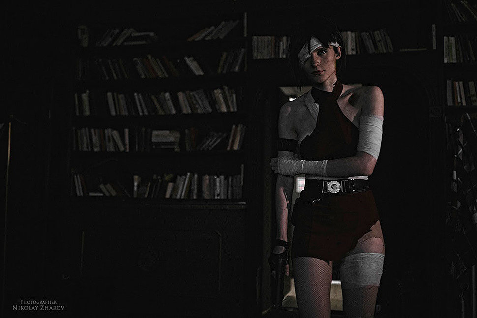 Russian Cosplay: Ada Wong (Resident Evil: The Umbrella Chronicles)