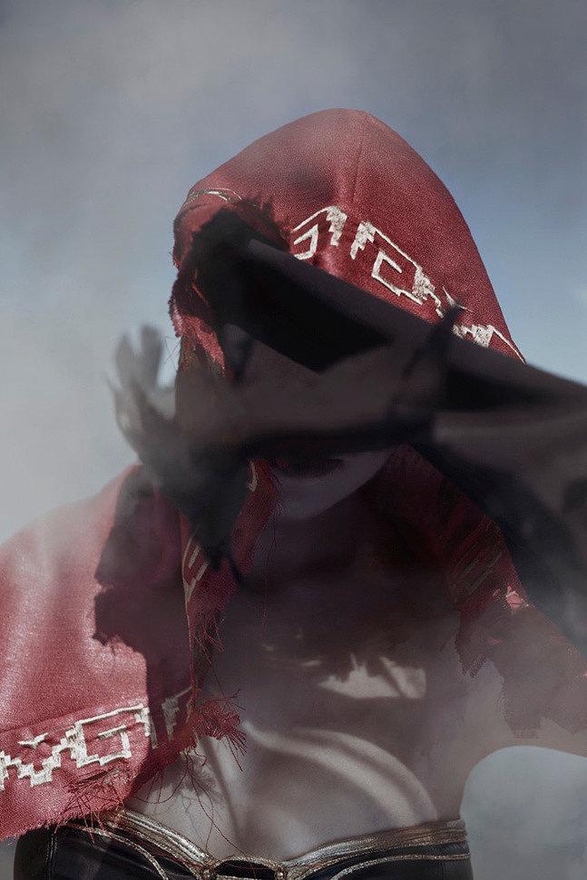 Russian Cosplay: Desert Pyromancer Zoey (Dark Souls 3)