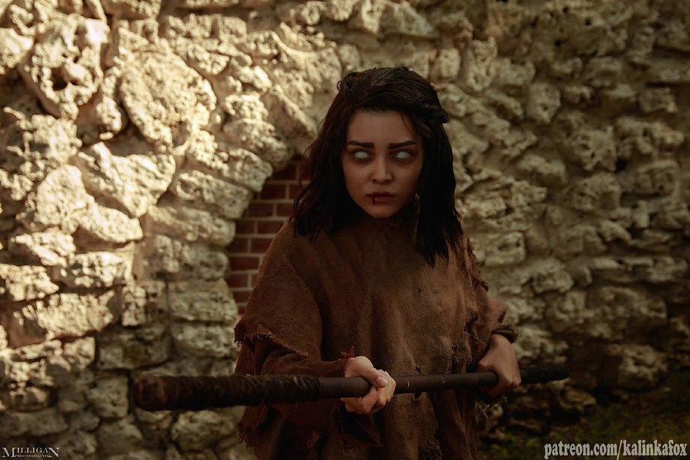 Russian Cosplay: Arya Stark (Game of Thrones)